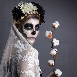 Déguisement de fille en Halloween